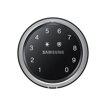 กลอนประตูดิจิตอล SAMSUNG รุ่น SHS-D607 (Sub - lock) สีดำ1