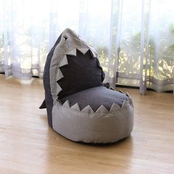 Storehaus บีนแบ็กหัวฉลาม รุ่นFU0001 สีเทา1