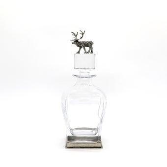 Storehaus ขวดแก้วฝาแก้วตกแต่งรูปกวาง รุ่นTA0001 สีใส1