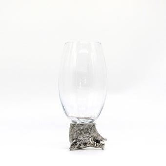 Storehaus แก้วตกแต่งรูปหมูป่า รุ่นTA0004 สีใส1