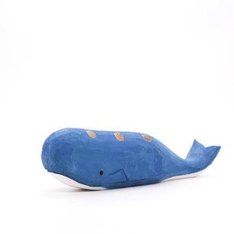 Storehaus ที่เสียบดินสอรูปปลาวาฬสีฟ้า รุ่นTA00145