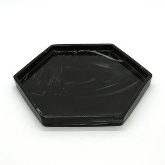 Storehaus ถาดรูปหกเหลี่ยมสีดำ รุ่นTA00591