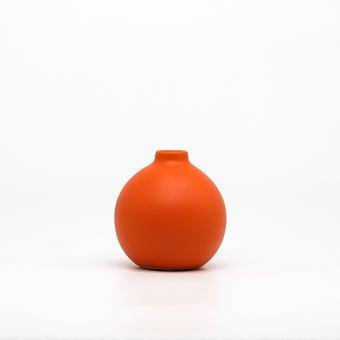 Storehaus แจกันทรงกลม รุ่นVA0038 สีส้ม1