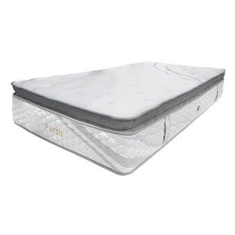 """SLEEP LATEX ที่นอนพ็อคเก็ตสปริงเสริมยางพารา 2"""" + ฟองน้ำ 1"""" รุ่น Perth ขนาด 6 ฟุต แถมฟรี หมอนหนุนยางใย 2 ใบ หมอนข้างข้างใย 2 ใบ01"""