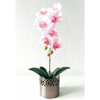 KDD ดอกไม้ประดิษฐ์ #A039ฟาแลนนอปซิสสีชมพู1