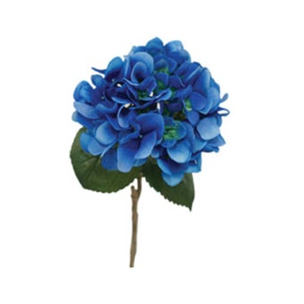 KDD ดอกไม้ประดิษฐ์#C045ไฮเดนเยียร์AAAน้ำเงิน สีฟ้า1