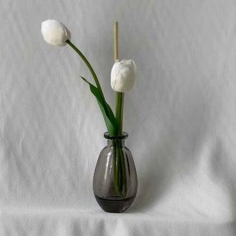8@NINE ดอกไม้ปลอม/21305-B/สีขาว