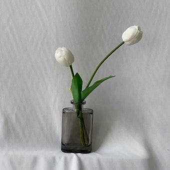 8@NINE ดอกไม้ปลอม/21305-C /สีขาว