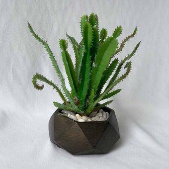 8@NINE ดอกไม้ปลอม/21308-C/สีเขียว