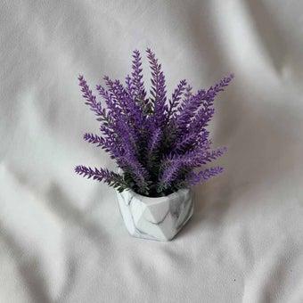 8@NINE ดอกไม้ปลอม/21309/สีม่วง