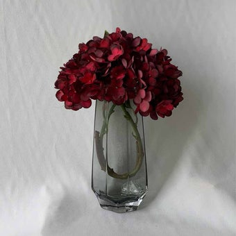 8@NINE ดอกไม้ปลอม/21311/สีแดง01