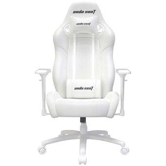 Anda Seat Special Edition Large gaming Chair with 4D Armrest (White Witch) เก้าอี้เล่นเกมส์ อันดาซีท สีขาว ขนาด 95 x 71 x 39 cm1