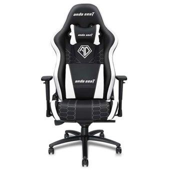 Anda Seat Spirit King Series Gaming Chair อันดาซีท เก้าอี้เล่นเกมส์ เก้าอี้ทำงาน เก้าอี้เพื่อสุขภาพ สีดำ-ขาว 91 x 73 x 39 cm1