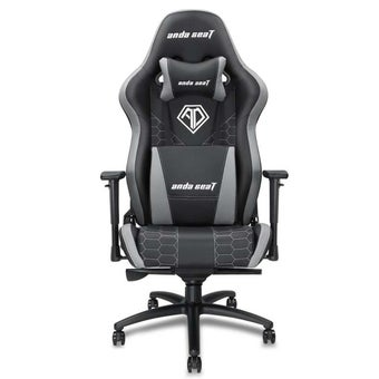 Anda Seat Spirit King Series Gaming Chair อันดาซีท เก้าอี้เล่นเกมส์ เก้าอี้ทำงาน เก้าอี้เพื่อสุขภาพ สีดำ-เทา 91 x 73 x 39 cm1