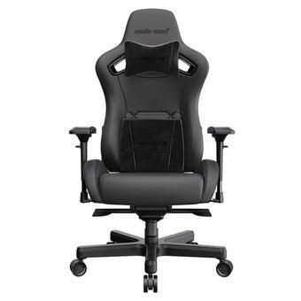 Anda Seat Z-Nappa Alcantara Edition Luxury Gaming Chair (Black) เก้าอี้เล่นเกมส์ อันดาซีท สีดำ 95 x 73 x 43 cm1