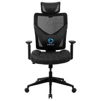 ONEX GE300 Gaming Chair วันเอ็กซ์ เก้าอี้เล่นเกม เก้าอี้เพื่อสุขภาพ ปรับระดับได้ 90-135 องศา รับประกัน 1 ปี สีดำ ขนาด 66 x 70 x 118-128 cm1