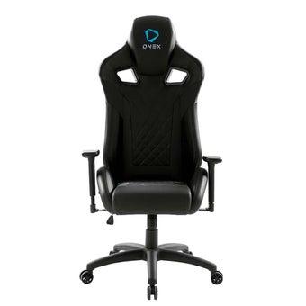 ONEX GX5 Gaming Chair วันเอ็กซ์ เก้าอี้เล่นเกม เก้าอี้เพื่อสุขภาพ ปรับระดับได้ 90-180 องศา รับประกัน 1 ปี สีดำ ขนาด 70 x 92 x 34.5 cm1