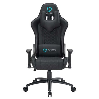 ONEX GX3 Gaming Chair วันเอ็กซ์ เก้าอี้เล่นเกม เก้าอี้เพื่อสุขภาพ ปรับระดับได้ 90-180 องศา รับประกัน 1 ปี สีดำ ขนาด 52 x 55 x 11cm1