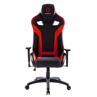 ONEX GX5 Gaming Chair วันเอ็กซ์ เก้าอี้เล่นเกม เก้าอี้เพื่อสุขภาพ ปรับระดับได้ 90-180 องศา รับประกัน 1 ปี สีแดง ขนาด 70 x 92 x 34.5 cm1