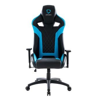 ONEX GX5 Gaming Chair วันเอ็กซ์ เก้าอี้เล่นเกม เก้าอี้เพื่อสุขภาพ ปรับระดับได้ 90-180 องศา รับประกัน 1 ปี สีฟ้า ขนาด 70 x 92 x 34.5 cm1
