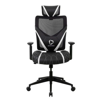 ONEX GE300 Gaming Chair วันเอ็กซ์ เก้าอี้เล่นเกม เก้าอี้เพื่อสุขภาพ ปรับระดับได้ 90-135 องศา รับประกัน 1 ปี สีขาว ขนาด 66 x 70 x 118-128 cm1