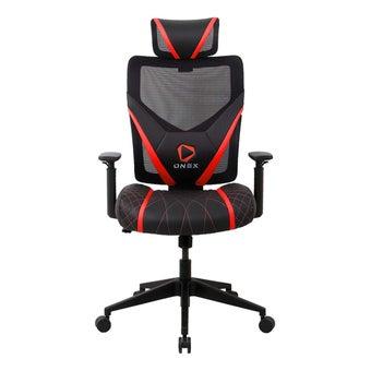 ONEX GE300 Gaming Chair วันเอ็กซ์ เก้าอี้เล่นเกม เก้าอี้เพื่อสุขภาพ ปรับระดับได้ 90-135 องศา รับประกัน 1 ปี สีแดง ขนาด 66 x 70 x 118-128 cm1