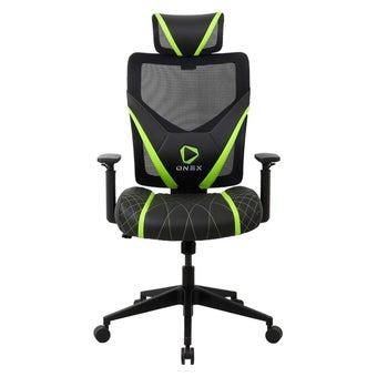 ONEX GE300 Gaming Chair วันเอ็กซ์ เก้าอี้เล่นเกม เก้าอี้เพื่อสุขภาพ ปรับระดับได้ 90-135 องศา รับประกัน 1 ปี สีเขียว ขนาด 66 x 70 x 118-128 cm1