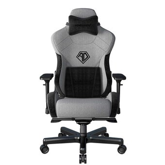 AndaSeat T-Pro II Series Premium Gaming Chair เก้าอี้เล่นเกมส์ เก้าอี้ทำงาน เก้าอี้เพื่อสุขภาพ สีเทา ขนาด 73 x 95 x 43 cm1
