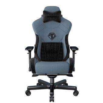 AndaSeat T-Pro II Series Premium Gaming Chair เก้าอี้เล่นเกมส์ เก้าอี้ทำงาน เก้าอี้เพื่อสุขภาพ สีฟ้า ขนาด 73 x 95 x 43 cm1