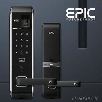 กลอนประตูดิจิตอล Digital Door Lock รุ่น EPIC EF-8000-04