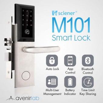 Digital Door Lock M101 Bluetooth + Application ตั้งรหัสจากมือถือได้-05