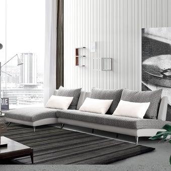 โซฟาผ้า โซฟาเข้ามุมสลับซ้าย/ขวามีCorner รุ่น Jelly-SB Design Square