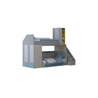 ชุดห้องนอนเด็ก รุ่น Kidzio สีสีโอ๊คอ่อน-SB Design Square
