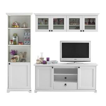 ชุดวางทีวี ขนาด 200 รุ่น Melona สีขาว01