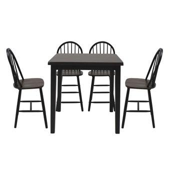 ชุดโต๊ะอาหาร รุ่น Guess สีดำ01