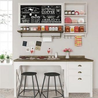 ห้องครัวขนาดกะทัดรัดและครัวสำเร็จรูป รุ่น Croissant สีขาว01