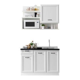 ชุดครัว ชุดครัว Kourmet รุ่น Kourmet สีสีขาว-SB Design Square