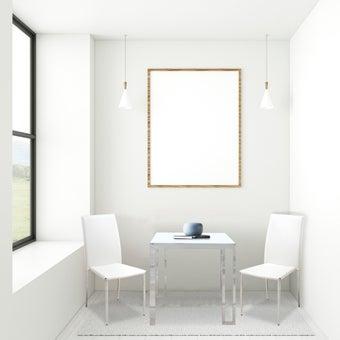 ชุดโต๊ะอาหาร รุ่น Montis สีขาว-00