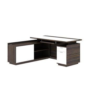 โต๊ะทำงาน ขนาด 160 ซม. รุ่น Finetti ( L Shape)