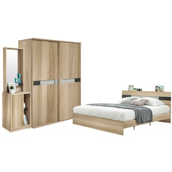 ชุดห้องนอน ขนาด 5 ฟุต รุ่น Harper-00