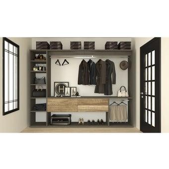 ห้องแต่งตัว  รุ่น Deco Series สีเบจ01