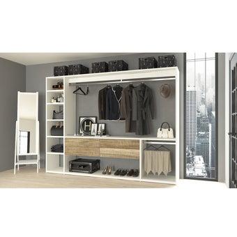 ห้องแต่งตัว  รุ่น Deco Series สีไม้เข้ม01