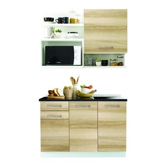 ชุดครัว ชุดครัว Kourmet รุ่น Kourmet สีสีโอ๊ค-SB Design Square