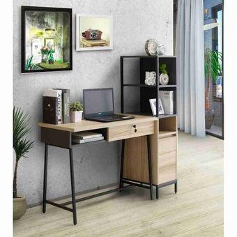 ห้องรับแขก โต๊ะทำงาน รุ่น Worka สีสีโอ๊ค-SB Design Square