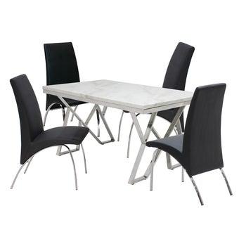 ชุดโต๊ะอาหาร รุ่น Apollo & เก้าอี้ รุ่น Step#3