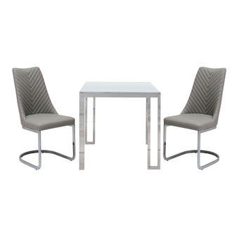 ชุดโต๊ะอาหาร รุ่น Montis & เก้าอี้ Yoviala