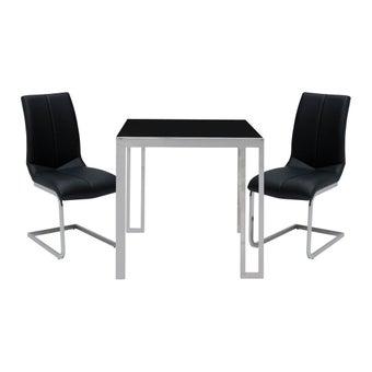 ชุดโต๊ะอาหาร รุ่น Montis สีดำ-00