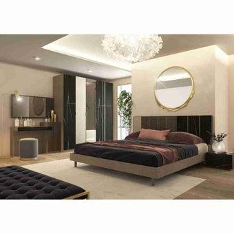 ชุดห้องนอน ขนาด 6 ฟุต รุ่น Aureus สีดำ-02