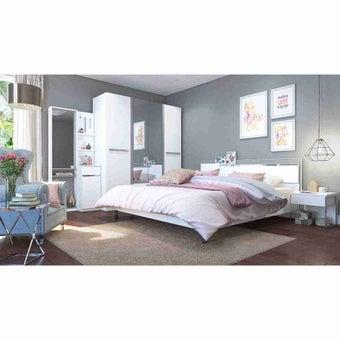 ชุดห้องนอน ขนาด 6 ฟุต รุ่น Ricchi สีขาว-00