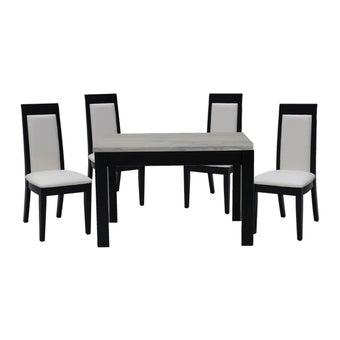 โต๊ะทานอาหาร โต๊ะอาหารหินล้วน รุ่น Finch-SB Design Square